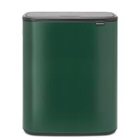 Bo Touch Bin Afvalemmer - 60 liter - Pine Green