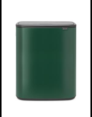 Brabantia Bo Touch Bin Afvalemmer - 60 liter - Pine Green