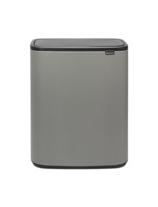 Brabantia Bo Touch Bin Afvalemmer - 60 liter - Mineral Concrete Grey