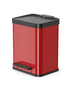 Hailo Oko Uno Plus Pedaalemmer - 17 liter - Rood