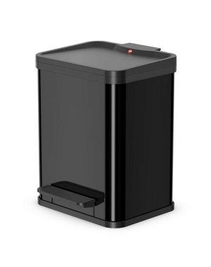 Hailo Oko Uno Plus Pedaalemmer - 17 liter - Zwart