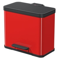 Oko Duo Plus Pedaalemmer - 9 + 17 liter - Rood