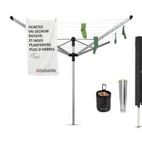 Droogmolen Lift-O-Matic Advance - 50m - incl. grondanker, beschermhoes en wasknijpertasje