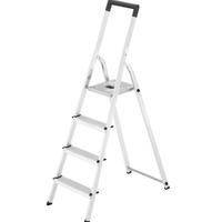 L40 huishoudtrap - 4 treden - Aluminium