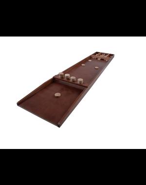 Longfield Games Sjoelbak Wedstrijd Luxe - 200x41 cm - incl. stenen