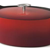 Braadpan - Rood - 29 cm - Gietijzer