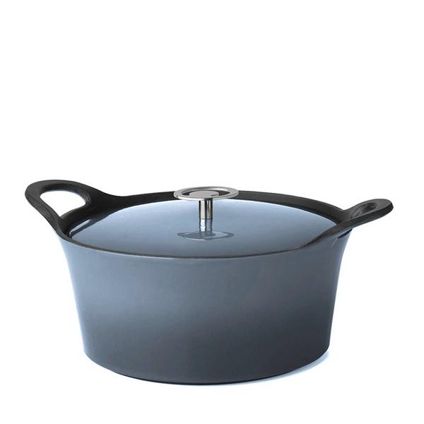 Cuisinox Cuisinox Braadpan - Denim Blue - 25 cm - Gietijzer