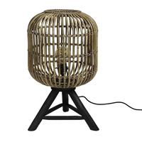 Tafel lamp Rond Blond - (D)36 x (H) 60 cm - Verticaal