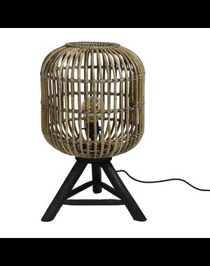 Van der Leeden Tafel lamp Rond Blond - (D)36 x (H) 60 cm - Verticaal