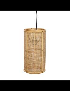 Van der Leeden Hanglamp fijn geweven - (D)20 x (H)40 cm