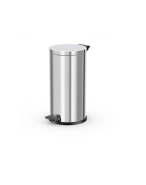 Hailo Pedaalemmer Solid L - 18 liter - RVS