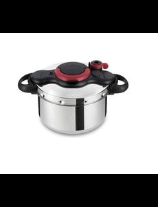 Tefal Clipso Minut Easy Snelkookpan - 6 liter - RVS