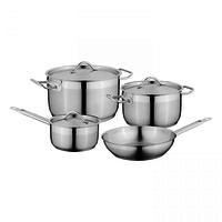 Essentials Kookpannenset - 4 delig - RVS