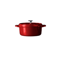 Braadpan - Rood - 26 cm - Gietaluminium