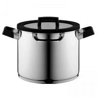 Downdraft Soeppan - 24 cm - RVS - Veilig afgietsysteem