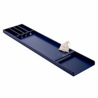 Mini Sjoelbak Jan Des Bouvrie - Blauw - 120 cm - Incl. stenen