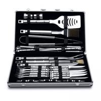 Essentials barbecueset in aluminium koffer - 33 delig