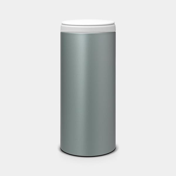 Brabantia Brabantia FlipBin Afvalemmer - 30 liter - Metallic Mint