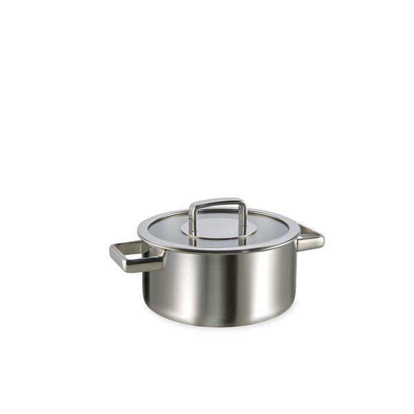 Habonne Habonne Royal Kookpan - 20 cm - met glazen deksel