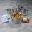 Kela Kela Flavoria Kookpannenset - 4 delig - met glazen deksels