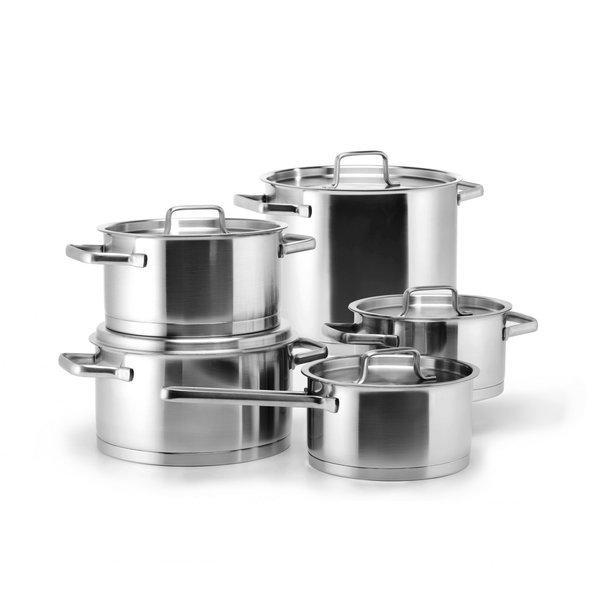 Habonne Habonne Robust Kookpannenset - 5-delig - RVS