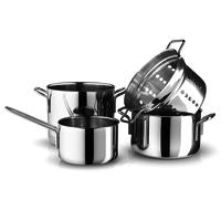 Kookpannenset - 4 delig - RVS