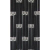 Vliegengordijn Hulzen - Zwart