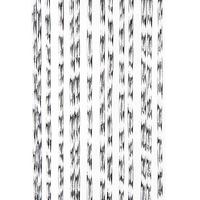 Vliegengordijn Marloes - 100x240 cm - Transparant/wit