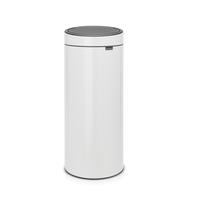 Touch Bin Afvalemmer - 30 liter - White