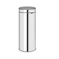 Touch Bin Afvalemmer - 30 liter - Brilliant Steel