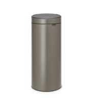 Touch Bin Afvalemmer - 30 liter - Platinum