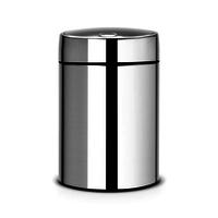 Slide Bin wandafvalemmer 5ltr Brilliant Steel