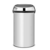 Touch Bin Afvalemmer 60ltr Metallic Grey/Brilliant Steel