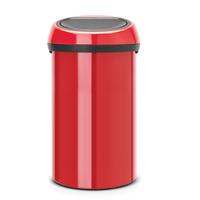 Touch Bin Afvalemmer 60ltr Passion Red