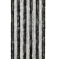 Vliegengordijn Kattenstaart - 90 x 220 cm - Zwart/Grijs