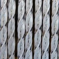 Vliegengordijn - 100x240 cm - Transparant Wit