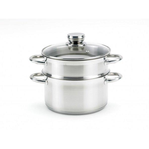 Dann Cuisine Dann Cuisine Stoompan 26 CM RVS
