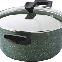 Eco Kookpan - 100% gerecycled aluminium - 24 cm - Antiaanbaklaag