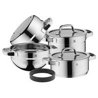 Compact Cuisine - Kookpannenset - 5 delig - Stoommand - RVS