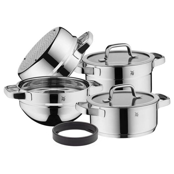 WMF WMF Compact Cuisine - Kookpannenset - 5 delig - Stoommand - RVS