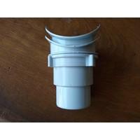Dakgoot G250 Wit/Grijs Uitvoer