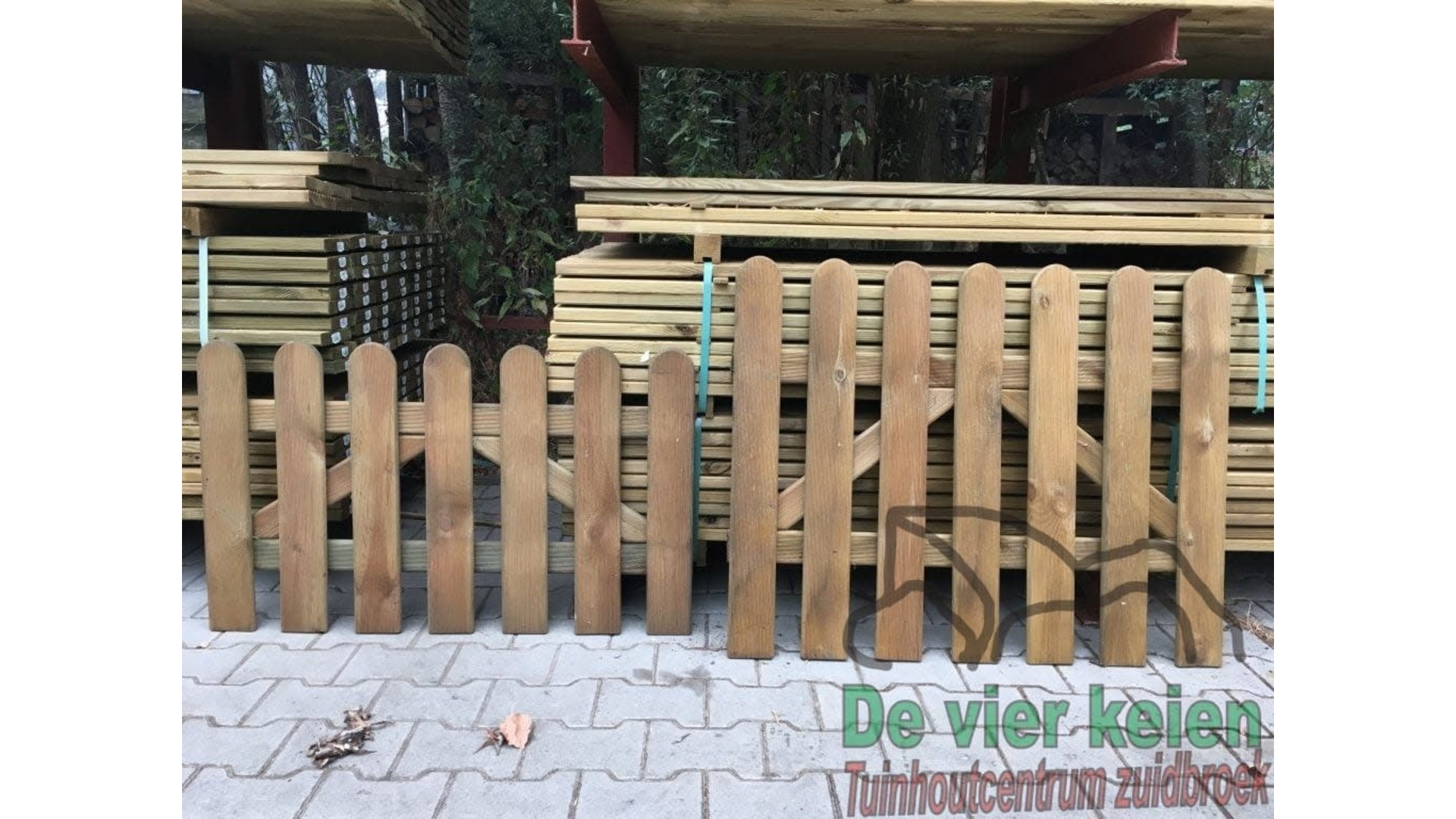Tuinhek Relief poort 100 cm