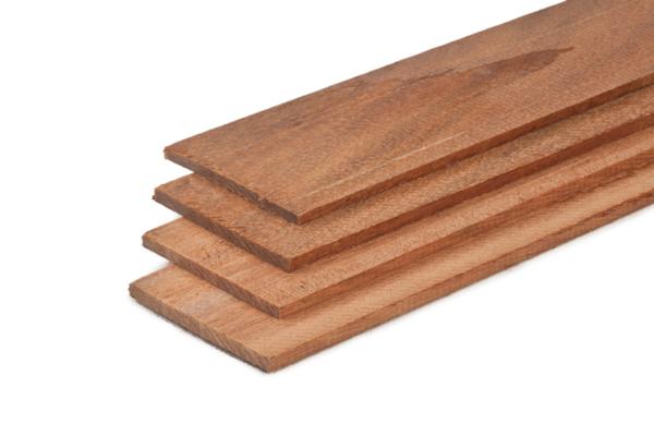 Hardhout strip 0,6x10 - 400 cm