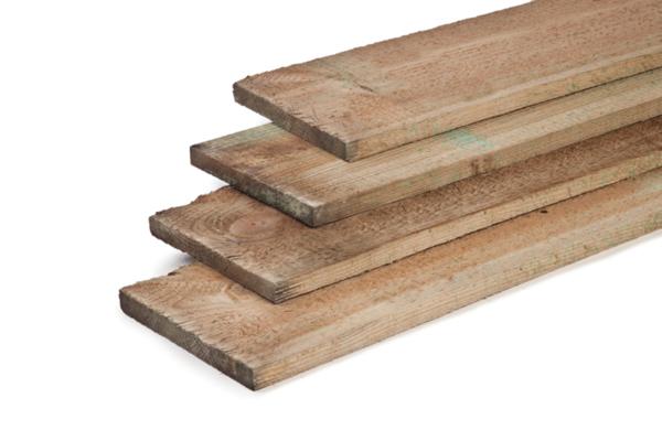 Grenen plank 2x20 cm