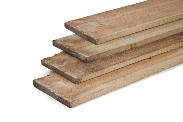 Grenen plank 3x20 cm
