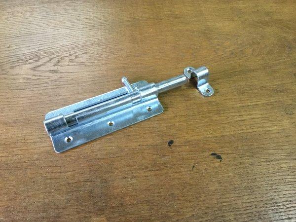 Plaatgrendel Schuif 120x50mm