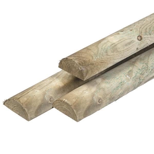Halfrond gefreesd 7 cm - 250 cm
