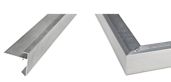 Daktrim aluminium 4.5x4.5 cm