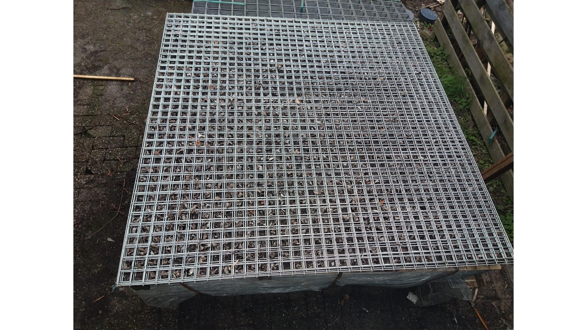 Gaaspaneel verzinkt maas 5x5 cm