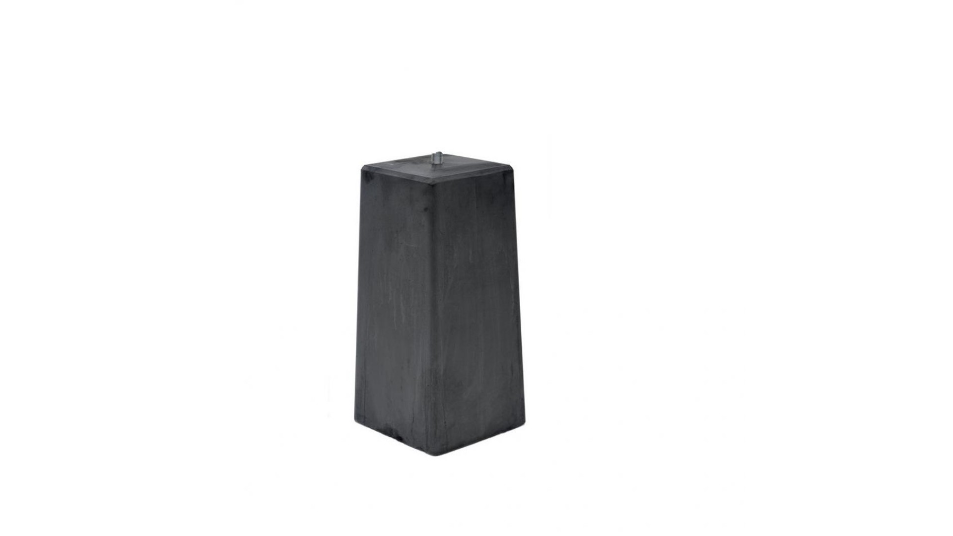 Betonpoer taps 20x23x50cm (dikke betonpoer)